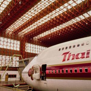 Aircraft Hangar: B747 Hangar of Thai Airways