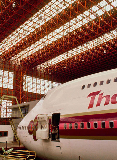 Aircraft Hangar: B747 Hangar of Thai Airways