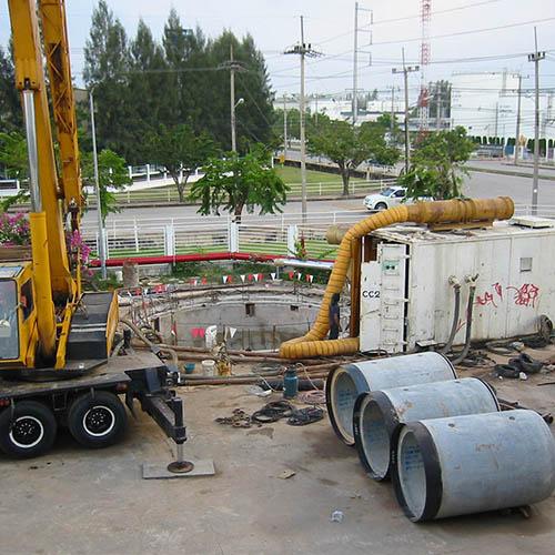 Tunnel: Underground Utility Tunnel of Michelin-NKE