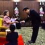 สมเด็จพระเทพรัตนราชสุดาฯ สยามบรมราชกุมารี พระราชทานของที่ระลึกแก่ผู้มีอุปการคุณสนับสนุนการดำเนินโครงการ จุฬาฯ-ชนบท ปีการศึกษา 2558